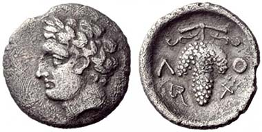 88 - Locri Opuntii, Obol, 340 BC. NAC 55 (2010), 88.