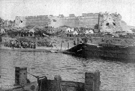 Close by ancient Abydos the Gallipoli Campaign took place in the 20th century. Photograph: Wikipedia.