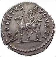 Abb. 7: Eine moderne Fälschung eines Denars des Septimius Severus