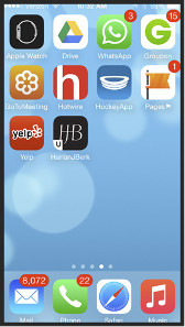 Screenshots der neuen HJB App.