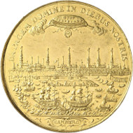 Lot 3685: GERMAN STATES / HAMBURG. Bankportugalöser of 10 ducats 1672. Very rare. Extremely fine to uncirculated. Estimate: 30,000,- euros.