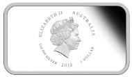 Australia / 2015 / 1 AUD / Silver .999 / 31.135 g / 40.60 mm / Mintage: 5000.
