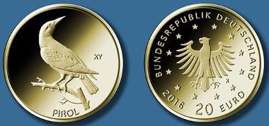 20-Euro-Goldmünze 2017
