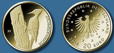 20-Euro-Goldmünze 2021