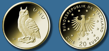 20-Euro-Goldmünze 2018
