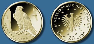 20-Euro-Goldmünze 2019
