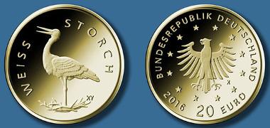20-Euro-Goldmünze 2020