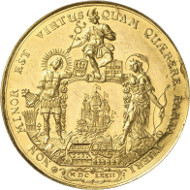 Hamburg. Bankportugalöser of 10 ducats 1672. Auction Künker 264 (June 24/25, 2015), lot 3685; estimate: 30,000 euros.