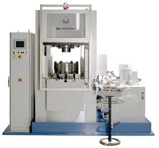 Hydraulic press from Sack & Kiesselbach.