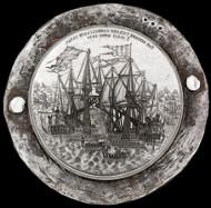 Original medal dies. Photo: National Museum of Denmark.