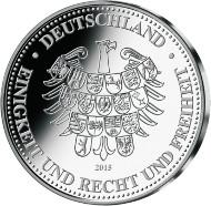 Staatliche Münze Berlin / 2015 / Silber 333/1000 / 6,80 g / 30 mm / Spiegelglanz.