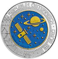Österreich / 2015 / 25 Euro / Silber-Niob / 34,00 mm / 16,50 g / Entwurf: Helmut Andexlinger.