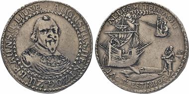 Los 1083: Braunschweig-Wolfenbüttel. August der Jüngere, 1635-1666. Reisetaler o.J., Zellerfeld. W. 804A. Dav. 6358.