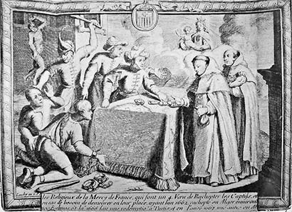 Handel mit Gefangenen. 17. Jh. Quelle: Wikipedia.
