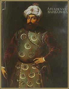 Barbarossa Hayreddin Pascha. Gemälde aus dem 16. Jh. Louvre. Quelle: Wikipedia.