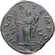 Abb. 11: Fälschung eines Sesterzes der Didia Clara