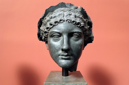 Portrait of Agrippina the Younger, wife of Claudius, mother of Nero. Photo: UK.