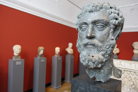 Bronze portrait of Septimius Severus. Photo: UK.
