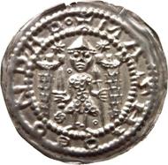 Meißen, Markgraf Konrad von Wettin (1127-1156), Brakteat.