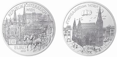Österreich / 2015 / 10 Euro / Silber Ag 925 / 17,30 g / 32 mm / Entwurf: Thomas Pesendorfer / Siegerin Wettbewerb: Viktoria Pinzer / Auflage: 40.000 (Handgehoben) / 30.000 (Polierte Platte).