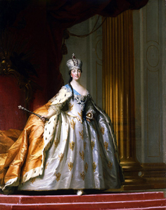 Catherine the Great in her Coronation Robe, by Vigilius Eriksen, 1778.