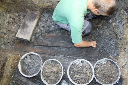 Archäologische Funde in der Burg Hasegg machen eine Überarbeitung der UNESCO-Bewerbung notwendig. Foto: Stadtmarketing Hall.