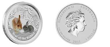 Australia - Mintage: 170.000 - 1 oz silver - 1 AUD - 99,9 % Fineness - 31.135 g - 45.6 mm