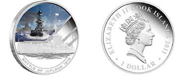Cook Islands - Mintage: 5.000 - 1 oz silver - 99,9 % Fineness - 31.135 g - 40.6 mm - Designer: Darryl Bellotti
