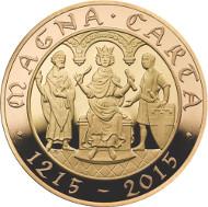 United Kingdom / 2015 / £2 / Gold Proof / Design: John Bergdahl / Mintage: 400.