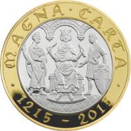 United Kingdom / 2015 / £2 / Silver Proof / Design: John Bergdahl / Mintage: 3,000.