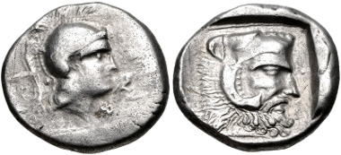 Lot 174: LYCIA, Telmessos. Late 5th-early 4th centuries BC. Stater. VF. Estimate $500.
