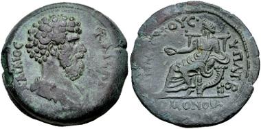 Lot 442: EGYPT, Alexandria. Aelius. Caesar, AD 136-138. Drachm. Struck AD 137. Dattari (Savio) 2076 and 7990-1; K&G 34.4; Emmett 1351. VF. Ex Gemini XII (11 January 2015), lot 368. Estimate $750.