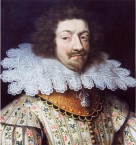 Charles of Nevers as Duke Charles I Gonzaga, around 1620. Source: Wikicommons.