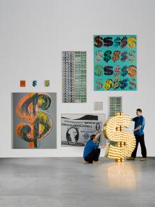 Die Kunstwerke, wie sie bei Sotheby's unter dem Titel