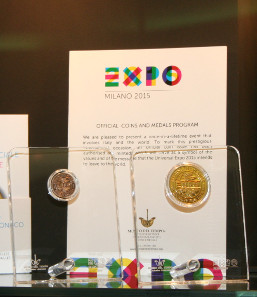 Apparently the official EXPO medal is the fastest selling souvenir in the EXPO shop. Photograph: courtesy Michael Alexander - LBMRC UK.