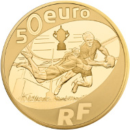 France / 2015 / 50 euro / Au 920 / 8.45 g / 22 mm / Mintage: 1,000.