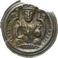 373: FRANKFURT a. Main. Reichsmünzstätte. Heinrich VI., 1190-1197. Brakteat. Berger 2363; Slg. Bonh. 1520; J./F. 31. Vorzüglich. 1.150 Euro.
