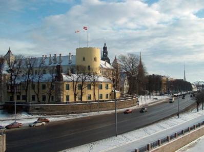 The Riga Castle today. Source: Wikipedia.