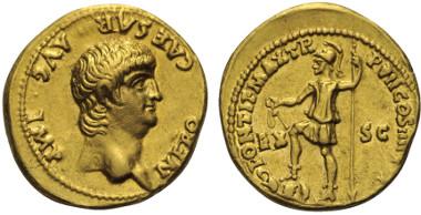 Los 260: NERO (54 - 68 n. Chr.). Aureus. 60 - 61 n. Chr. Rom.