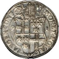 GERMANY. Trier. Taler, 1591. Johann VII (1581-99). NGC MS-62.
