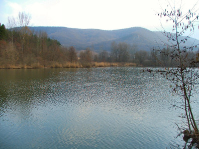 The Round lake in Esztergom, Hungary. Photograph: Wikimedia Commons.