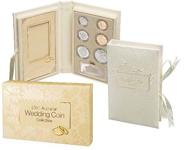 2011 Proof Coin Wedding Set.