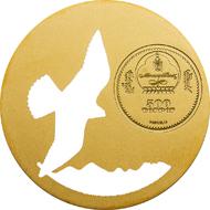 Mongolia / 2015 / 500 Togrog / Silver .925 / 1/2 oz / 38.61 mm / Mintage: 2,500.