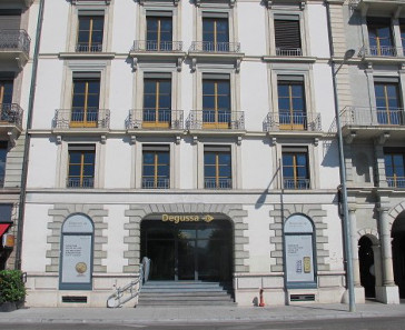 The new branch of Degussa Goldhandel AG in Geneva. Photograph: © Degussa Goldhandel.