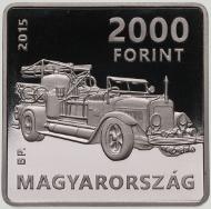 Hungary / 2000 Forint / 2015 / Cupro-Nickel / 14 g / 28.43 mm / Designer: Balázs Bitó / Mintage: 4,000 BU and 6,000 Proof.
