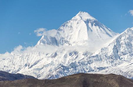 Der Dhaulagiri im Himalaya. Foto: Wikipedia / Solundir. https://creativecommons.org/licenses/by-sa/3.0/deed.en