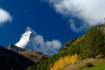 The Matterhorn in Switzerland. Photograph: Wikipedia / Gamma Cygni. https://creativecommons.org/licenses/by/2.0/deed.en