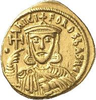 564: NIKEPHOROS I. mit STAURAKIOS 803-811. Solidus. Konstantinopel. v.v. S. 1604, DOC 2b. R, vz. Rufpreis: 800 Euro.