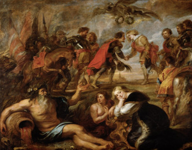 Peter Paul Rubens, The Victory of the Two Ferdinands, 1634/1635. Source: Wikicommons.