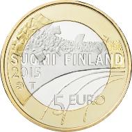 Finland / 5 euros / 9.8 g / 27.25 mm / Design: Nora Tapper / Mintage: 50,000 (UNC), 10,000 (proof).